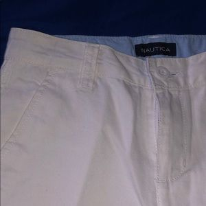 Nautica Bottoms - White shorts for boys